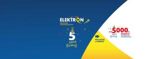 rabat na 5 lecie firmy elektron fotowoltaika